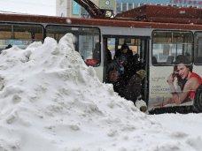 Дорожное движение, В Феодосии из-за снегопада было нарушено движение общественного транспорта