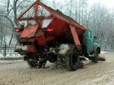 Подготовка к зиме, На дороги Симферополя высыпали 180 тонн песка и соли