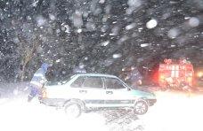 Непогода, На крымских дорогах застревают десятки автомобилей