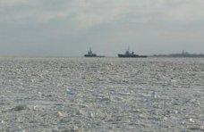 Паромная переправа, Прекращено движение судов по Керченскому проливу