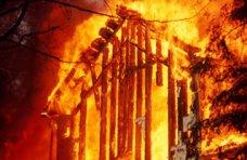 Пожар, В Нижнегорском районе мужчина получил ожоги на пожаре