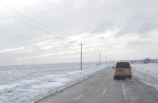Непогода, Из-за непогоды в Джанкойском районе полностью парализовано движение общественного транспорта