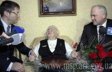Долгожитель, В Симферополе три долгожителя отметили 100-летние юбилеи