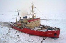 Керченский порт, Ледокол помогает движению судов в Керченском проливе