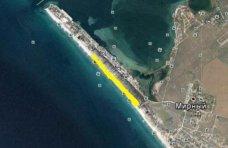 Земля, Арендатор лишился прав на 15 га пляжа под Саками