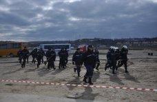 Учения, В Севастополе прошли учения спасателей ГСЧС