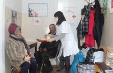 Пункт обогрева, Красный Крест в Евпатории организовал пункт обогрева