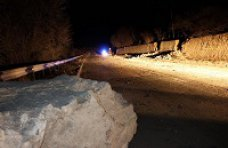 Оползень, На трассе «Ялта – Севастополь» произошел камнепад