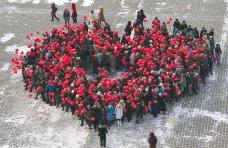 В Феодосии выстроят большую живую «валентинку»