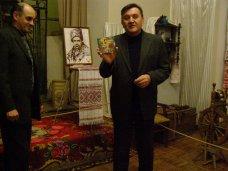 В Феодосии представили портрет Великого Кобзаря