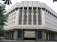 Крымский парламент потребовал от Президента Украины чрезвычайных мер