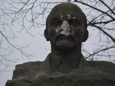 В Крыму повредили бюст Ленина