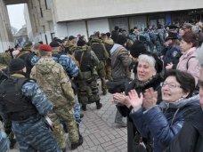 В Симферополе бойцы «Беркута» простились с погибшими сослуживцами