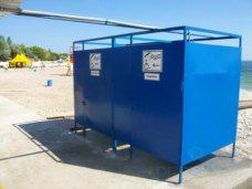 На пляжах Феодосии установят раздевалки для инвалидов