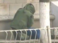 Неподалеку от крымского Совмина обнаружили подозрительную сумку