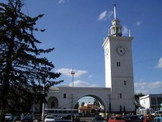 Поезда и автобусы из Симферополя отправляются по расписанию