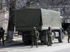 Стратегические объекты Крыма находятся под охраной отрядов крымской самообороны