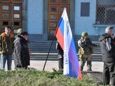 Здание Совмина в Симферополе охраняют военные