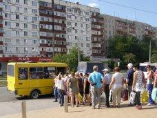 В Симферополе льготникам для проезда в маршрутке предложили выстраиваться в очередь