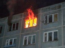 В Алуште на пожаре спасли человека