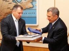 Глава парламента Крыма встретился с президентом Татарстана