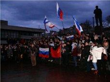 В Симферополе прошел митинг против пропаганды в украинских СМИ