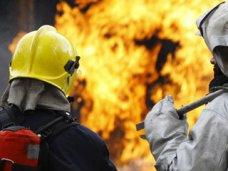 В Ленинском районе на пожаре погиб человек