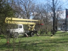 В Симферополе начали реконструкцию парка культуры и отдыха