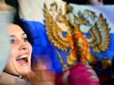 В Симферополе отмечают проведение референдума