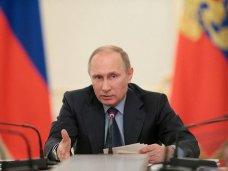 Путин распорядился подписать договор о вхождении Крыма в состав России