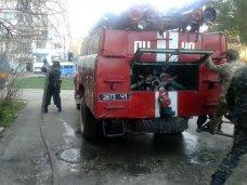 На пожаре в Крыму спасли двух человек