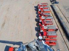 МЧС Севастополя получило 6 пожарных машин и автолестницу