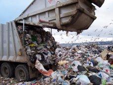 На алуштинский полигон перестали вывозить мусор из Ялты