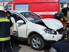 В Севастополе в столкновении автомобилей пострадал пассажир