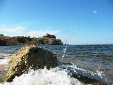 В море у берегов Керчи чуть не утонули два местных жителя