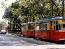В Евпатории приостановили движении трамваев