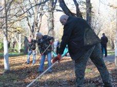 В Симферополе проведут уборку в парке Гагарина