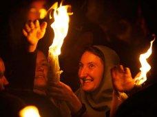 В Крым доставят Благодатный огонь из Иерусалима