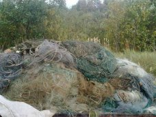 На востоке Крыма обнаружили 27 браконьерских сетей