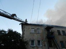 Жильцы сгоревшего дома в Гаспре остаются без квартир