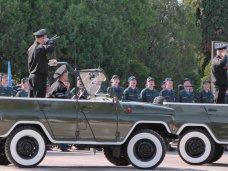 Севастопольские спасатели примут участие в параде Победы