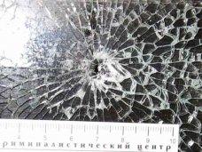В Феодосии нетрезвый пассажир расстрелял маршрутку из пневматики