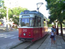 В Евпатории откроют памятник трамваю