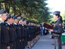 В Симферополе судебные приставы приняли присягу