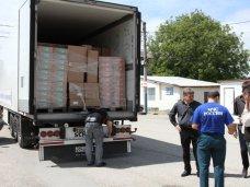 В Крым доставили гуманитарный груз из Санкт-Петербурга