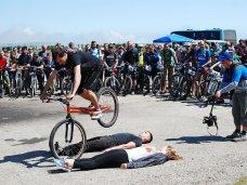 В Феодосии провели велофестиваль