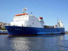 В мае из Новороссийска в Феодосию переправлено 1,5 тыс. грузовиков