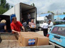 В Нижнегорский прибыла гуманитарная помощь