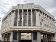Парламент Крыма принял пять законов о государственных служащих