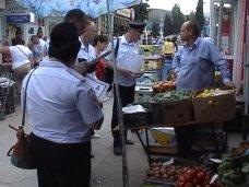 В Алуште провели рейд по местам стихийной торговли